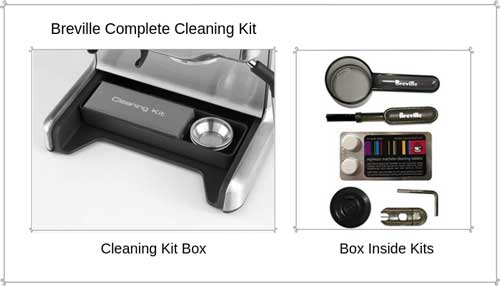 Breville Bes870xl Cleaning Kit