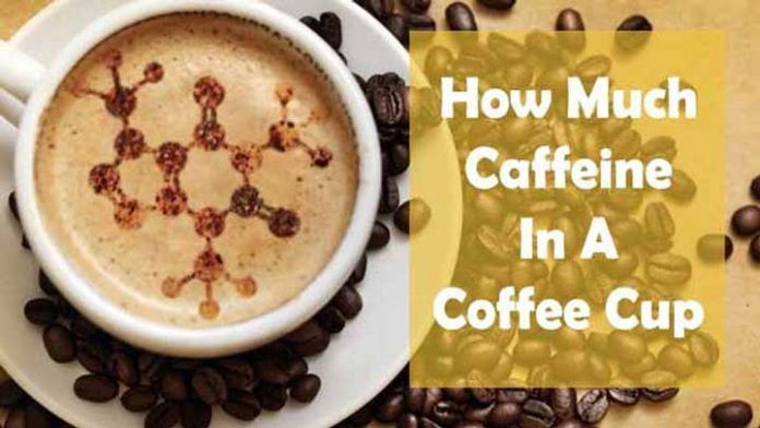 How much caffeine is in a cup of coffee