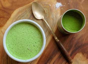 Matcha Flavored Keto Coffee Creamer Recipe