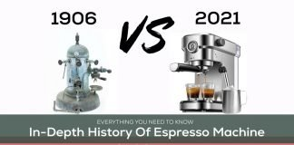 History of Espresso Machine